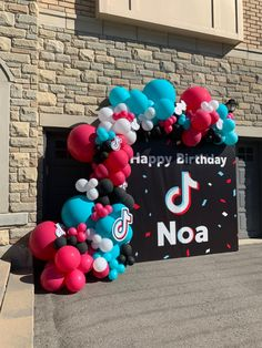 Birthday Cakes For Teens, 10th Birthday Parties, Happy Birthday, Ballon Decorations, Dream Party, Balloon Garland, Candyland, Party Themes, Birthdays