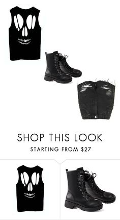 """""""Untitled #394"""" by multifandom01 ❤ liked on Polyvore featuring Topshop"""