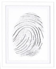 Silver Finger Print II