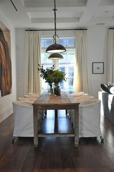 Handmade Farmhouse Table Décor Ideas