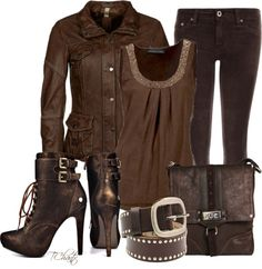 """Crazy for Chocolate #2"" by tchantx on Polyvore"