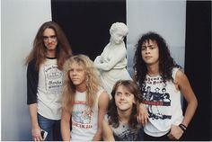 Old Metallica w/ Cliff Burton.