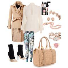 Fabulous Burberry studded jacket styled by me! 80s Fashion, Urban Fashion, Fashion Outfits, Womens Fashion, Fashion Trends, Fashion Night, Weekend Wear, Jacket Style, Autumn Winter Fashion