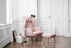 Ro lounge chair by Fritz Hansen; $3,272 at Kuhl-Linscomb / ONLINE_YES