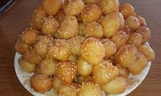 Greek Desserts, Greek Recipes, Greek Donuts, Pretzel Bites, Oreo, Deserts, Dessert Recipes, Vegetables, Ethnic Recipes