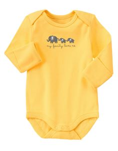 My Family Loves Me Bodysuit at Gymboree (Gymboree 0-24m)