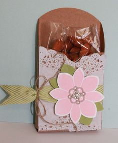 Just Julie B's Stampin' Space: Gift Card Enclosure Treat Box for Class!