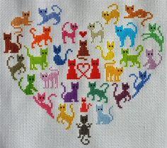 Cross Stitch Sampler Patterns, Cross Stitch Owl, Cat Cross Stitches, Cross Stitch For Kids, Cross Stitch Bookmarks, Cross Stitch Needles, Cross Stitch Cards, Cross Stitch Designs, Cross Stitching