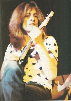 Led Zeppelin John Paul Jones onstage with guitar color pin-up photo print Jimmy Page, Robert Plant, Great Bands, Cool Bands, Rock N Roll, John Paul Jones, John Bonham, Pin Up Photos, Greatest Rock Bands