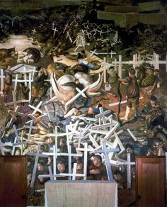 Resurrection of the Soldiers by Stanley Spencer (1929)