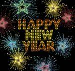 flashing Happy New Year animated