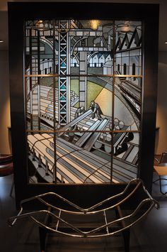 Art Deco Stained Glass Panels   Musee des Arts Decoratifs
