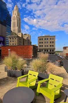 Rooftop Deck in Downtown Columbus, Ohio    HOMETOWN, WHATS UP!