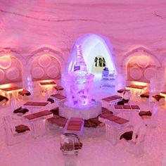 Pommery Ice Restaurant; Montreal, Canada