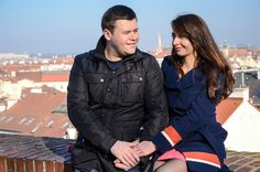 """Романтическая фотосессия """"Love story"""" в Праге на Вышеграде."""