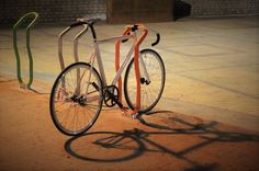 Bike Racks   City by night