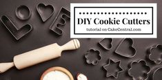 The step-by-step guide will show you how to make your own cookie cutters using materials found at your local hardware store. Read more at http://www.cakecentral.com/tutorial/20210/how-to-make-your-own-cookie-cutters#FFTz0EUguHpW50Dd.99