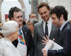 Tom and the Queen