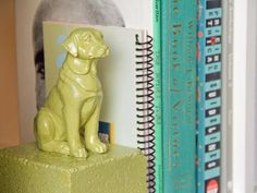 DIY Painted Animal Bookends : Decorating : Home & Garden Television