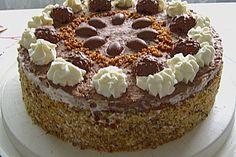 Schoko - Nuss - Sahne - Torte 16