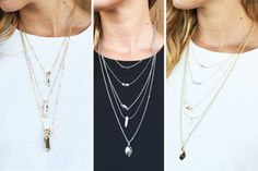 LAYERED CHAIN NECKLACE 80% OFF