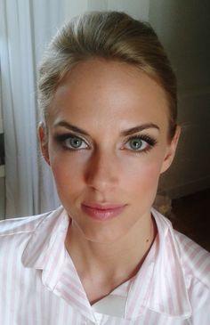 classic natural wedding makeup for model  by Janita Helova www.janitahelova.com