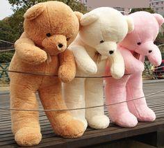 Giant teddy bears -it's so fluffy, I want one so bad! Huge Teddy Bears, Giant Teddy Bear, Large Teddy Bear, Teddy Bear Images, Teddy Bear Pictures, Bear Pics, Peluche Winnie The Pooh, Bear Tumblr, Teady Bear