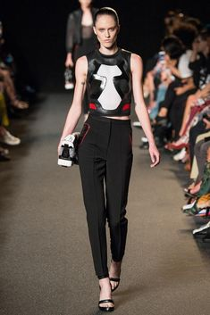 Alexander Wang Spring 2015 Ready-to-Wear - Collection - Gallery - Look 1 - Style.com