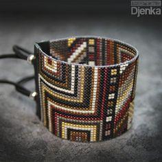 Bransoletka etniczna - beading - Urk - Djenka