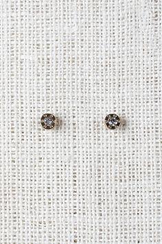 Riveting Jewel Stud Earrings - Gold Description These stud  earrings  feature a circular bezel with faux rivet textures, a jewel center, and post backs.   Measurement Measures approx. 0.25  L x 0.25  W. UNG61270GLD   http://p.nembol.com/p/41ZDeMZHpg Published via Nembol app