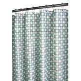Found it at Wayfair - Urban Tiles Shower Curtain in Aquamarine