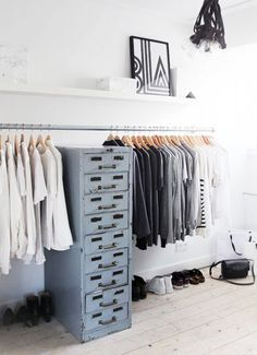 a perfect place to stash wardrobe accessories like gloves, socks and stockings, via vtwonen.
