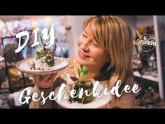 Glitzer Gartenlandschaft als Geschenkidee - YouTube