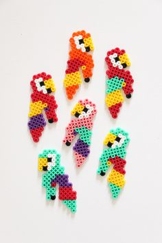 kids art kits diy / art kits for kids diy ` kids art display ` kids art kits diy Perler Bead Art, Perler Beads, Mini Hama Beads, Art Kits For Kids, Diy For Kids, Art Perle, Motifs Perler, Art Diy, Iron Beads