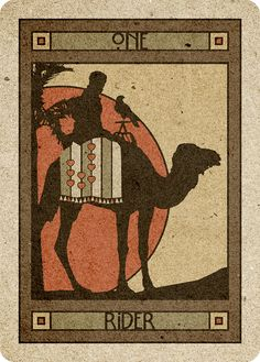 1 Rider- Chelsea-Lenormand Red by Neil Lovell