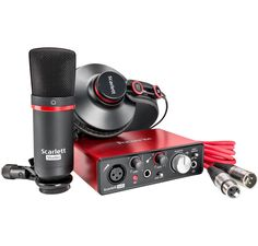 The Scarlett Solo USB audio interface delivers all the core elements you need to record your best performance. Though compact, it still delivers the same class-leading sound quality and digital conversion as the rest of the latest Scarlett range.