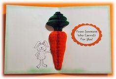 11029MC Carrot Bunny HoneyPOP Clear Set