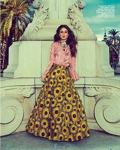 Kareena Kapoor Khan for Harper's Bazaar Bride December 2015