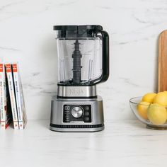 Ninja® Foodi® Power Blender & Processor System with Smoothie Bowl Maker and Nutrient Extractor* with smartTORQUE™ and Variable Speed Control to power through and never stall. Power Blender & Processor Pitcher is a Total Crushing® blender, food processor, and dough mixer. Nutrient Extraction* Cup and Spout Lid for smoothies and extractions. Smoothie Bowl Maker for smoothie bowls and nut butters. 1400-peak-watts make this Ninja's Best Total Crushing Blender. Smoothie Makers, Smoothie Blender, Smoothie Bowl, Blender Food Processor, Food Processor Recipes, Blender Ice Cream, Metabolism Boosting Foods, Ninja Coffee, Ninja Blender