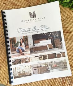 #MagnoliaMonday! You can now #preorder Joanna Gaines' Magnolia Home line right here at #PotentiallyChic!!! Stop by and check out the catalog! #MagnoliaHome #JoAnnaGaines #interiordesign #homedecor #fixerupper