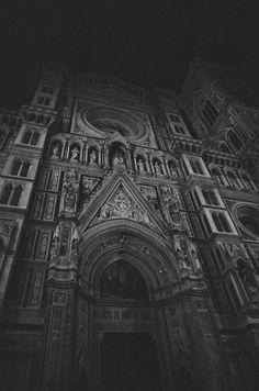 "chamaedaphne: "" "" Il Duomo, Florence (by whoyoucallingad) "" "" Carmilla, Dark Places, The Mortal Instruments, Elder Scrolls, Memento Mori, Gothic Girls, Skyrim, Macabre, Architecture"