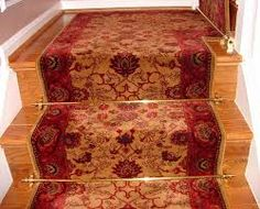 Image result for geometric carpet on stairs