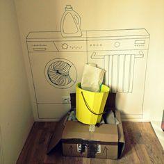 Prague's flat in Dejvice. Illustration by Katerina Kynclova. Interior Inspiration, Flat, Illustration, Design, Bass, Illustrations, Dancing Girls, Flat Shoes