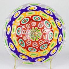 Murrina Plate Arlecchino Big - Blowed Murano Glass