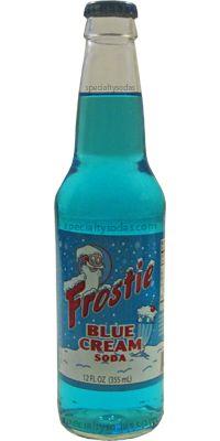 Frostie: Blue Cream Soda | #soda #blue #cream