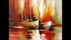 curso 21 - barcos en ocre Raphael Paintings, Art Analysis, San Fransisco, Beautiful Ocean, Pompeii, Fresco, Modern Art, Vibrant, Abstract Art
