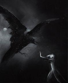 Anne Bachelier: The Raven R1(Poe Illustrations)