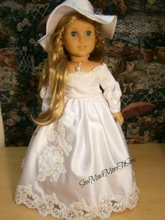 American Girl Doll ' Lil Bit Renaissance' by SewMuchMoreToSew