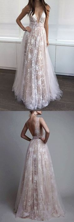 tulle and lace prom dresses wedding party dressses