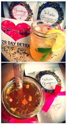 """Hello Gorgeous"" Energy Boosting Morning Tea by Skinny Fox Detox"
